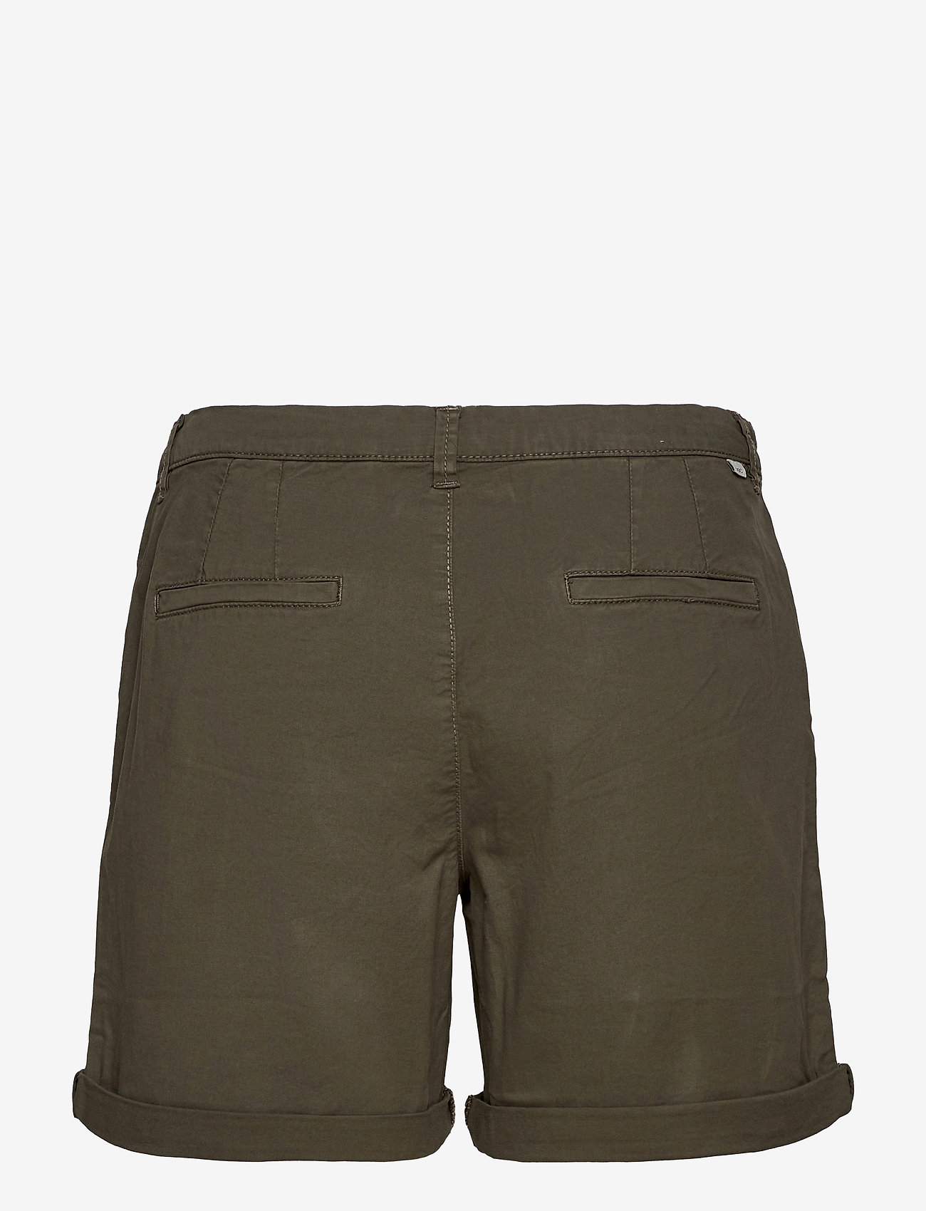 EDC by Esprit - Shorts woven - chino shorts - khaki green - 1