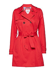 Coats woven - RED