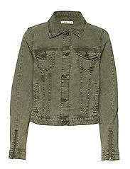 Jackets indoor woven - KHAKI GREEN