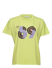 T-Shirts - LIME YELLOW