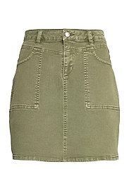 Skirts woven - KHAKI GREEN