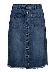 Skirts denim - BLUE MEDIUM WASH