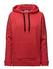 Sweatshirts - CORAL RED