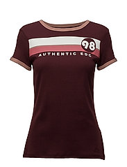 T-Shirts - BORDEAUX RED