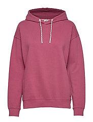 Sweatshirts - PLUM RED