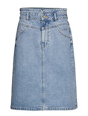 Skirts denim - BLUE MEDIUM WASH