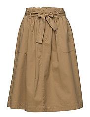 Skirts woven - KHAKI BEIGE