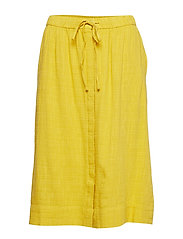 Skirts light woven - HONEY YELLOW