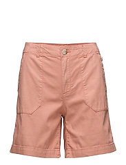 Shorts woven - PASTEL ORANGE