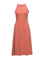 Dresses knitted - CORAL ORANGE