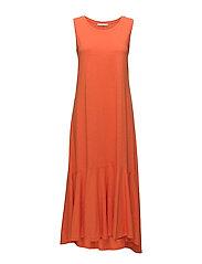 Dresses knitted - RED ORANGE