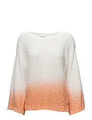 Sweaters - ORANGE