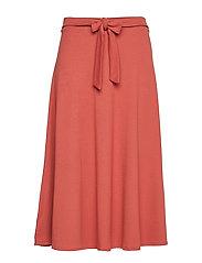 Skirts knitted - TERRACOTTA