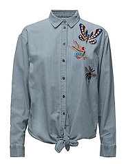 Blouses denim - BLUE LIGHT WASH