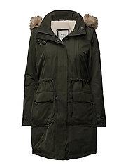 Coats woven - DARK KHAKI