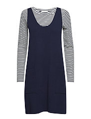 Dresses flat knitted - NAVY