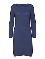 Dresses flat knitted - BLUE