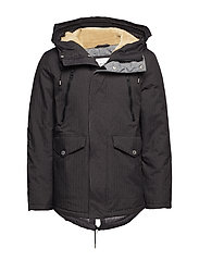 Jackets outdoor woven - DARK GREY