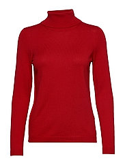 Sweaters - DARK RED