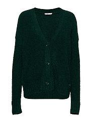 Sweaters cardigan - BOTTLE GREEN