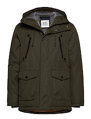 Jackets outdoor woven - OLIVE
