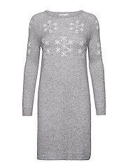 Dresses flat knitted - MEDIUM GREY 5