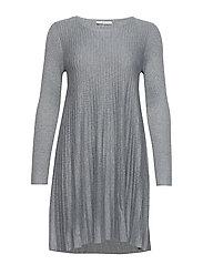 Dresses flat knitted - GUNMETAL 5