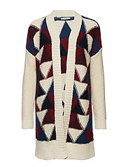 Sweaters cardigan - BORDEAUX RED
