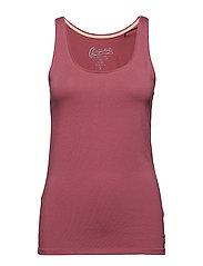 T-Shirts - PLUM RED 4