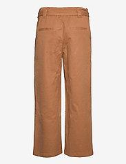 EDC by Esprit - Pants woven - bukser med brede ben - caramel - 1