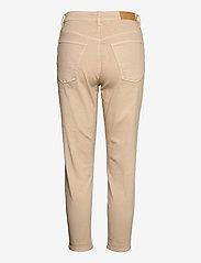 EDC by Esprit - Pants woven - straight regular - beige - 1