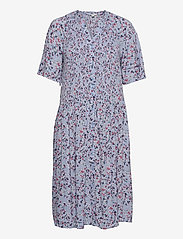 EDC by Esprit - Dresses light woven - sommerkjoler - light blue lavender 4 - 0