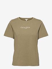 T-Shirts - LIGHT KHAKI
