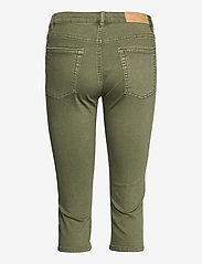 EDC by Esprit - Pants woven - pantalons capri - khaki green - 1