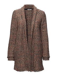 Jackets indoor knitted - ORANGE RED