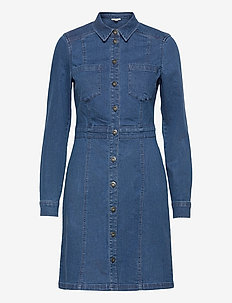 Dresses denim - shirt dresses - blue medium wash