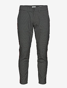 Pants woven - chino's - anthracite