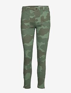Pants woven - stuprörsbyxor - khaki green
