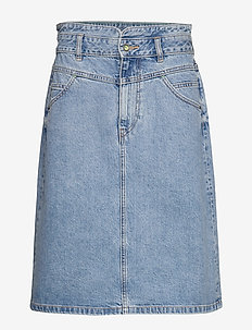 Skirts denim - jeansowe spódnice - blue medium wash