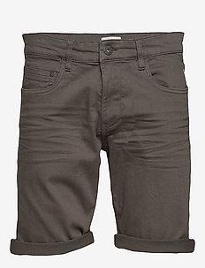 Shorts woven - jeans shorts - dark grey