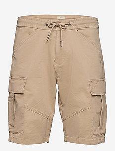 Shorts woven - cargo shorts - light beige