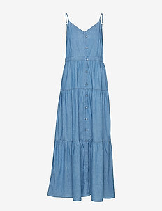 Dresses denim - BLUE LIGHT WASH