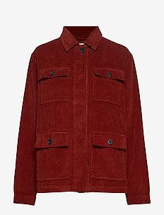 Jackets indoor woven - TERRACOTTA 5