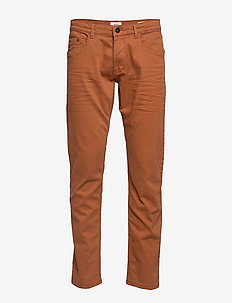 Pants woven - RUST BROWN