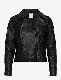 Jackets outdoor woven - leren jassen - black