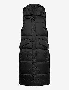 Vests outdoor woven - vester - black