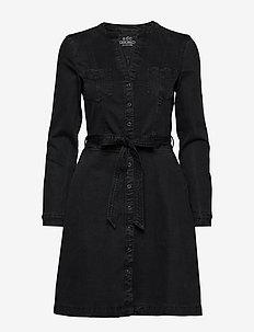 Dresses denim - BLACK DARK WASH