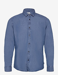 Shirts woven - chemises basiques - blue medium wash