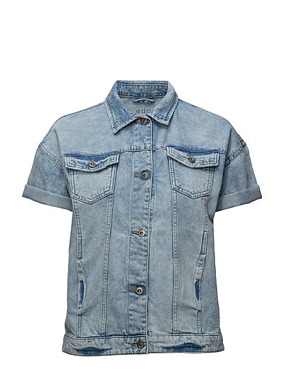 Vests outdoor denim - BLUE BLEACHED