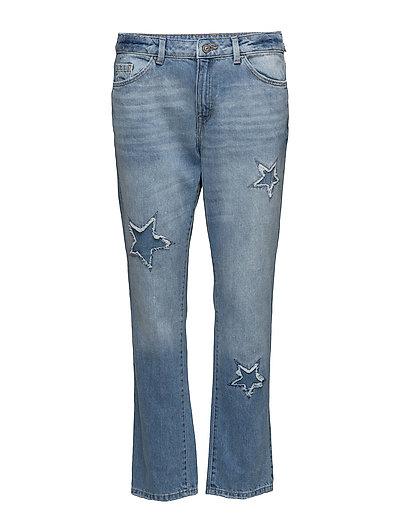 Pants denim - BLUE MEDIUM WASH